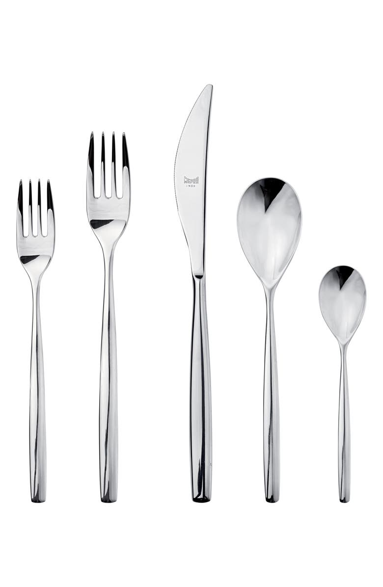 MEPRA Stiria 20-Piece Flatware Set, Main, color, STAINLESS SHINY