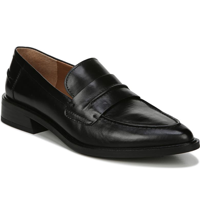 SARTO BY FRANCO SARTO Irena Loafer, Main, color, BLACK LEATHER
