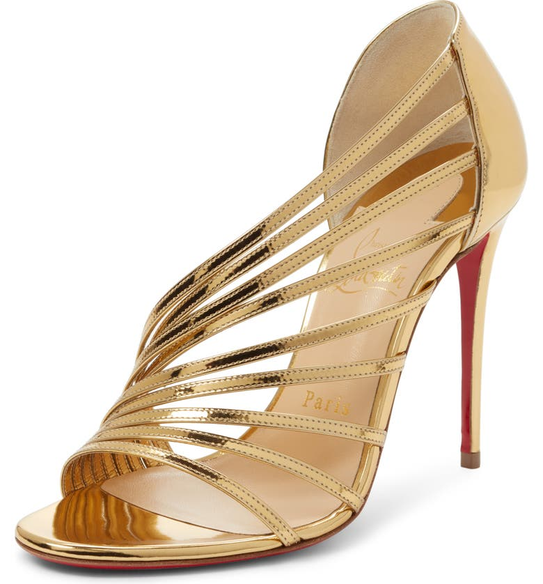 Norina Strappy Half D'Orsay Sandal by Christian Louboutin