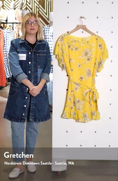 Ellamae Ruffle Sleeve Dress, sales video thumbnail
