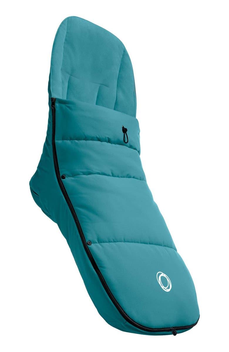 BUGABOO Stroller Footmuff, Main, color, BLUE