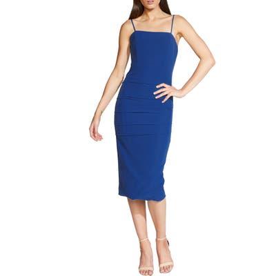 Bardot Brielle Body-Con Cocktail Dress, Blue