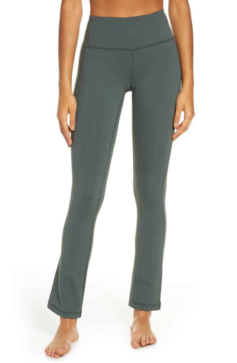 ZELLA Live in Plank Straight Leg Yoga Pants, Main, color, GREEN URBAN