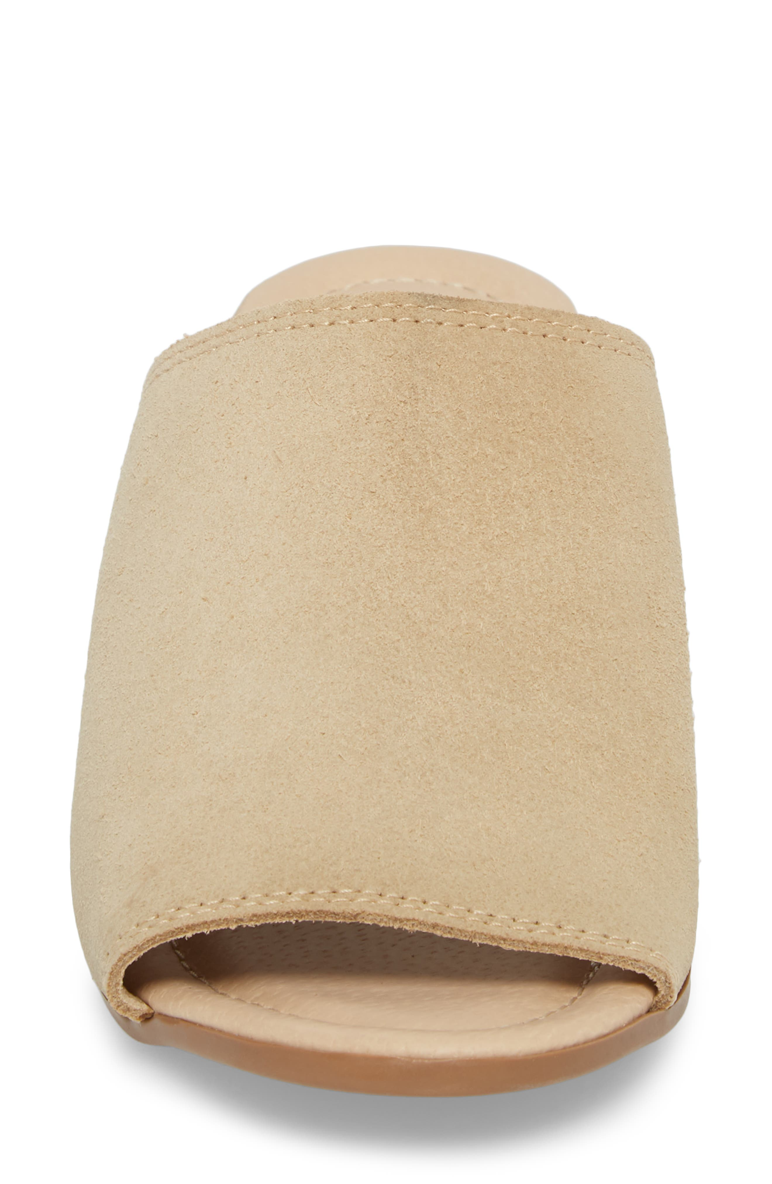 ,                             Fawn Mule,                             Alternate thumbnail 4, color,                             SAND CROSTA LEATHER