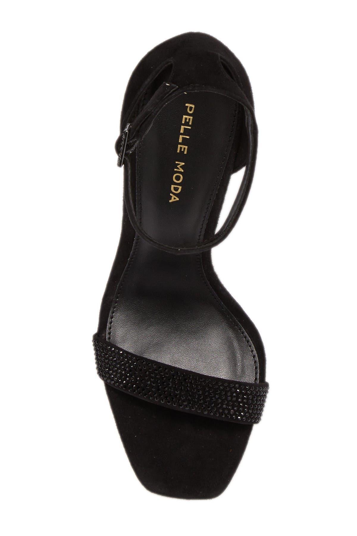 Image of Pelle Moda Gabi 3 Suede Ankle Strap Sandal