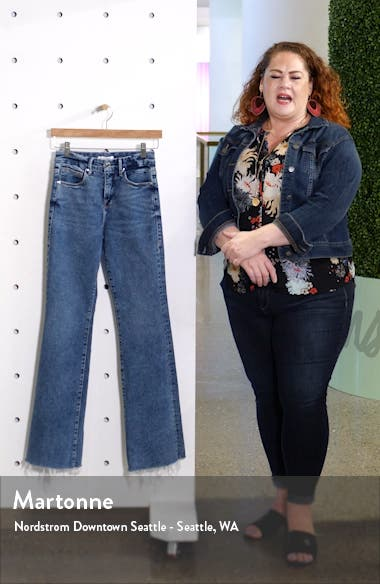 Good Flare Fray Hem Jeans, sales video thumbnail