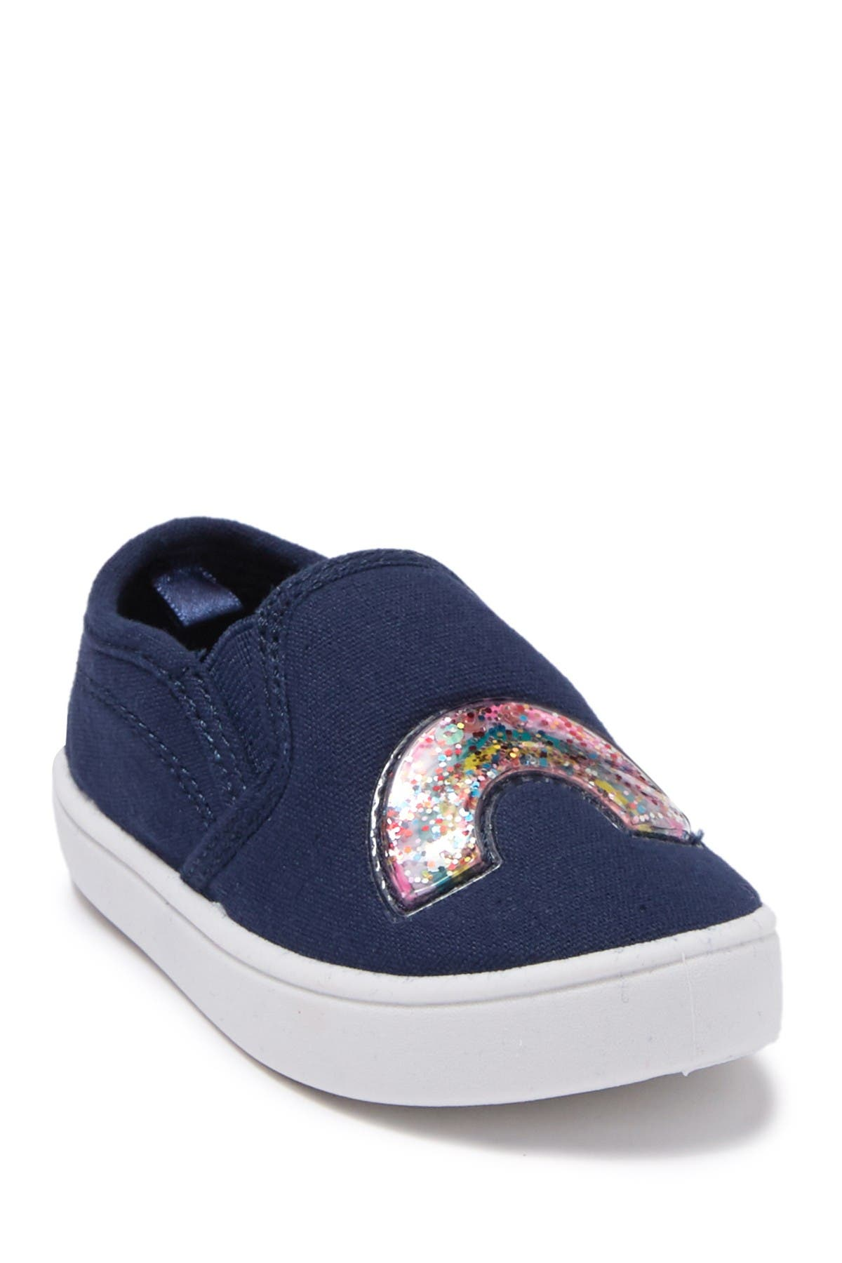 Image of Carter's Glitter Accent Canvas Sneaker