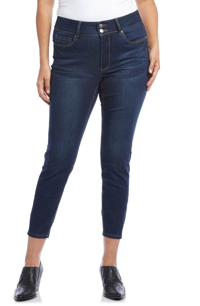 KAREN KANE Crop Skinny Jeans, Main, color, BLUE