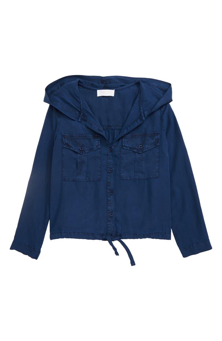 BELLA DAHL Utility Jacket, Main, color, NAVY