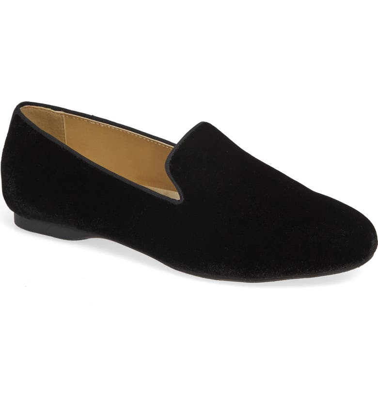 BIRDIES The Starling Loafer, Main, color, BLACK VELVET