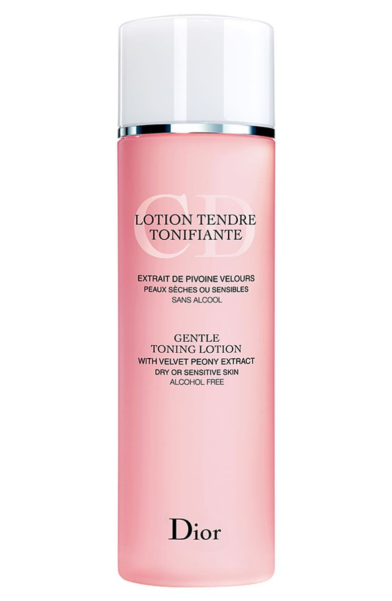 DIOR Gentle Toning Lotion for Dry or Sensitive Skin, Main, color, 000