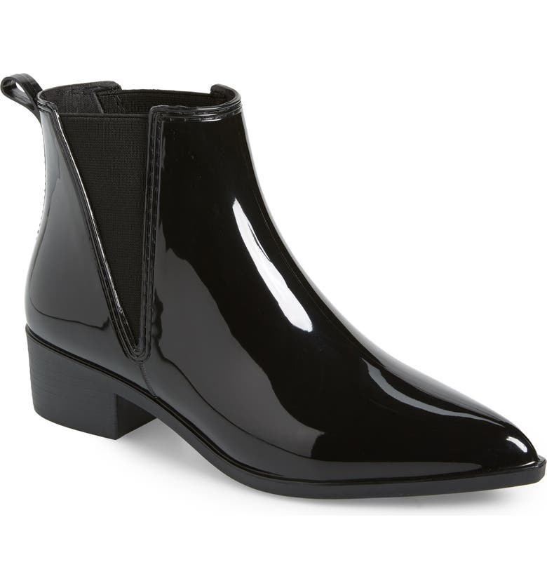 JEFFREY CAMPBELL Mist Chelsea Waterproof Rain Boot, Main, color, 002
