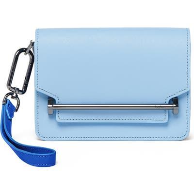 Botkier Mini Lennox Leather Crossbody Bag - Blue