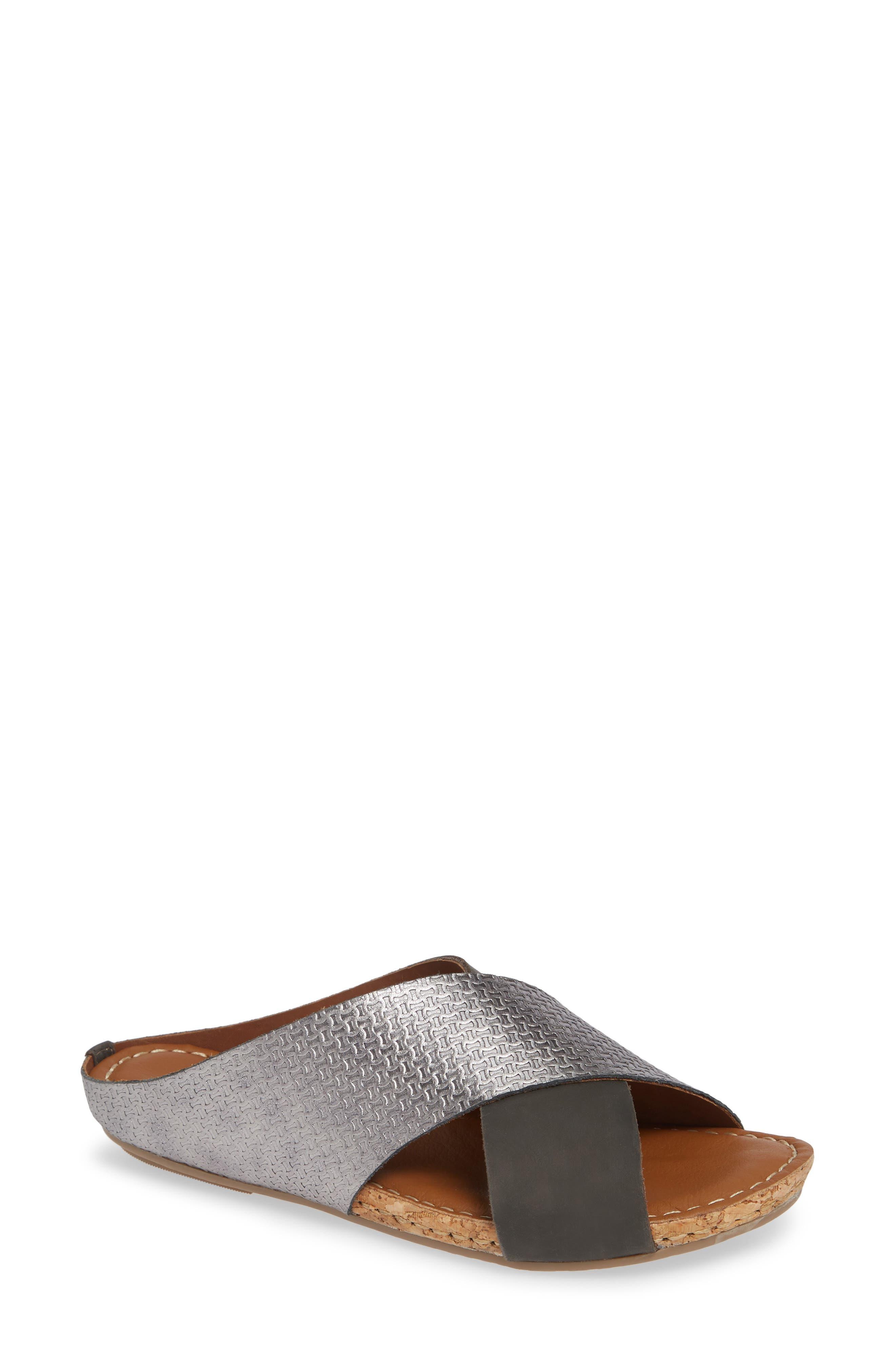 Klub Nico Gricia Slide Sandal, Metallic