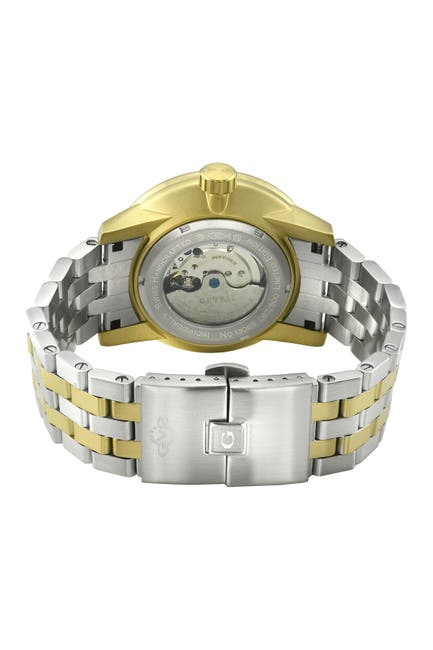 Image of Gevril Men's Five Points Swiss Automatic Watch, 49mm