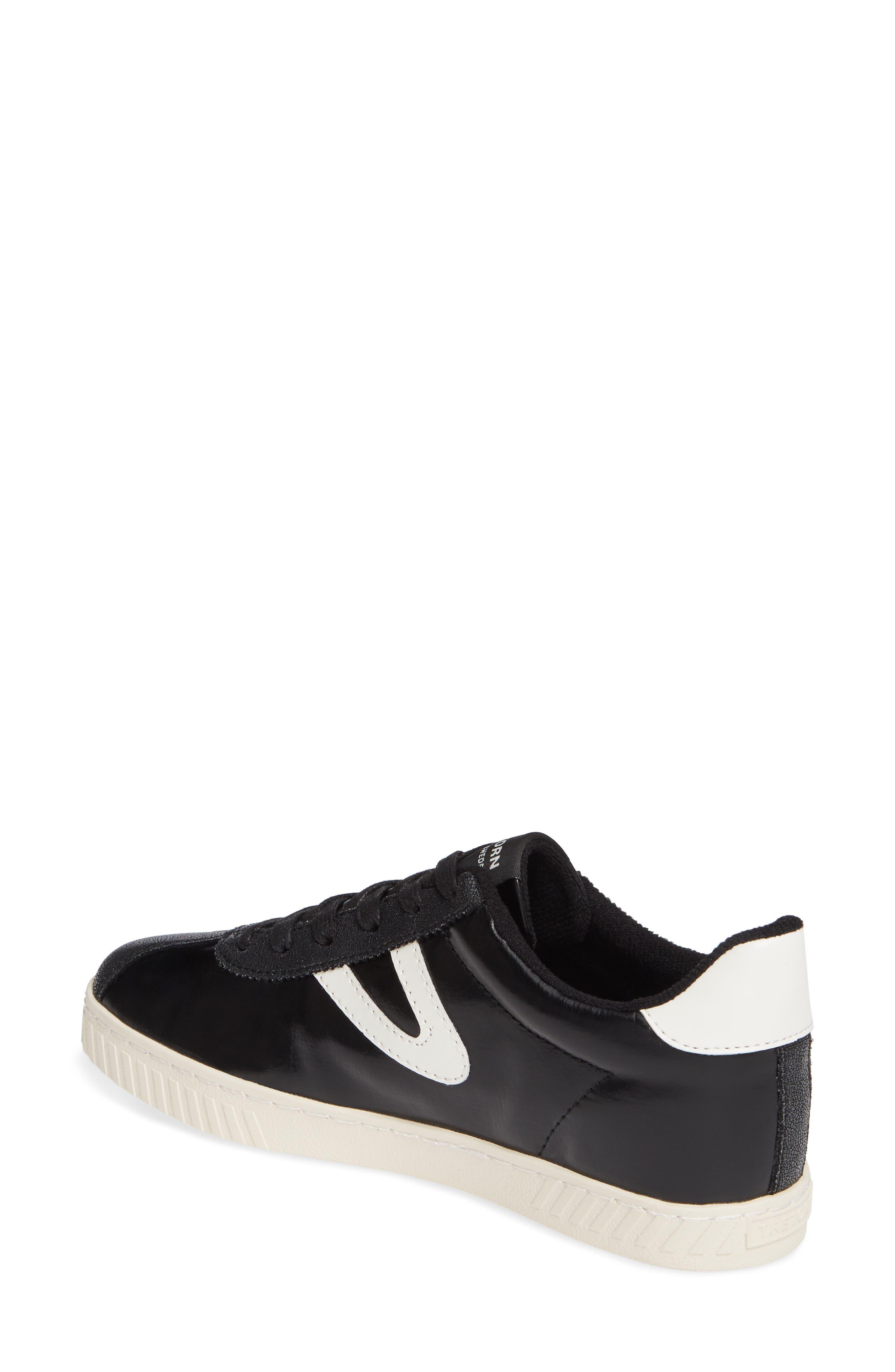 ,                             Callie 5 Sneaker,                             Alternate thumbnail 2, color,                             BLACK/ VINTAGE WHITE FABRIC