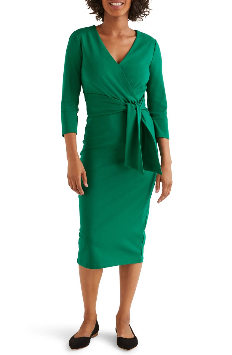 BODEN Sophie Ponte Sheath Dress, Main, color, 304