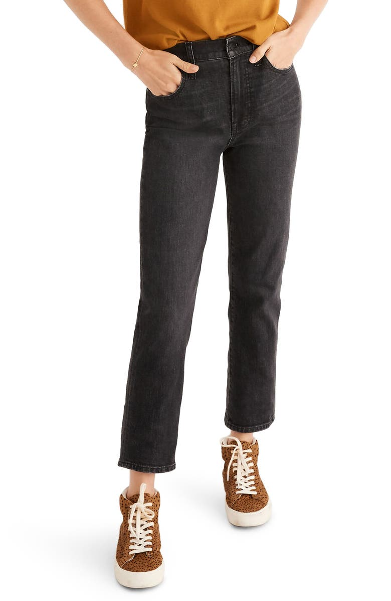 MADEWELL Perfect Vintage Jeans, Main, color, SUMNER WASH