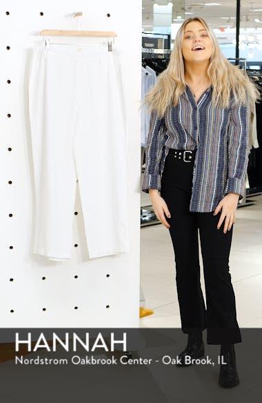 Cropped Linen Pants, sales video thumbnail