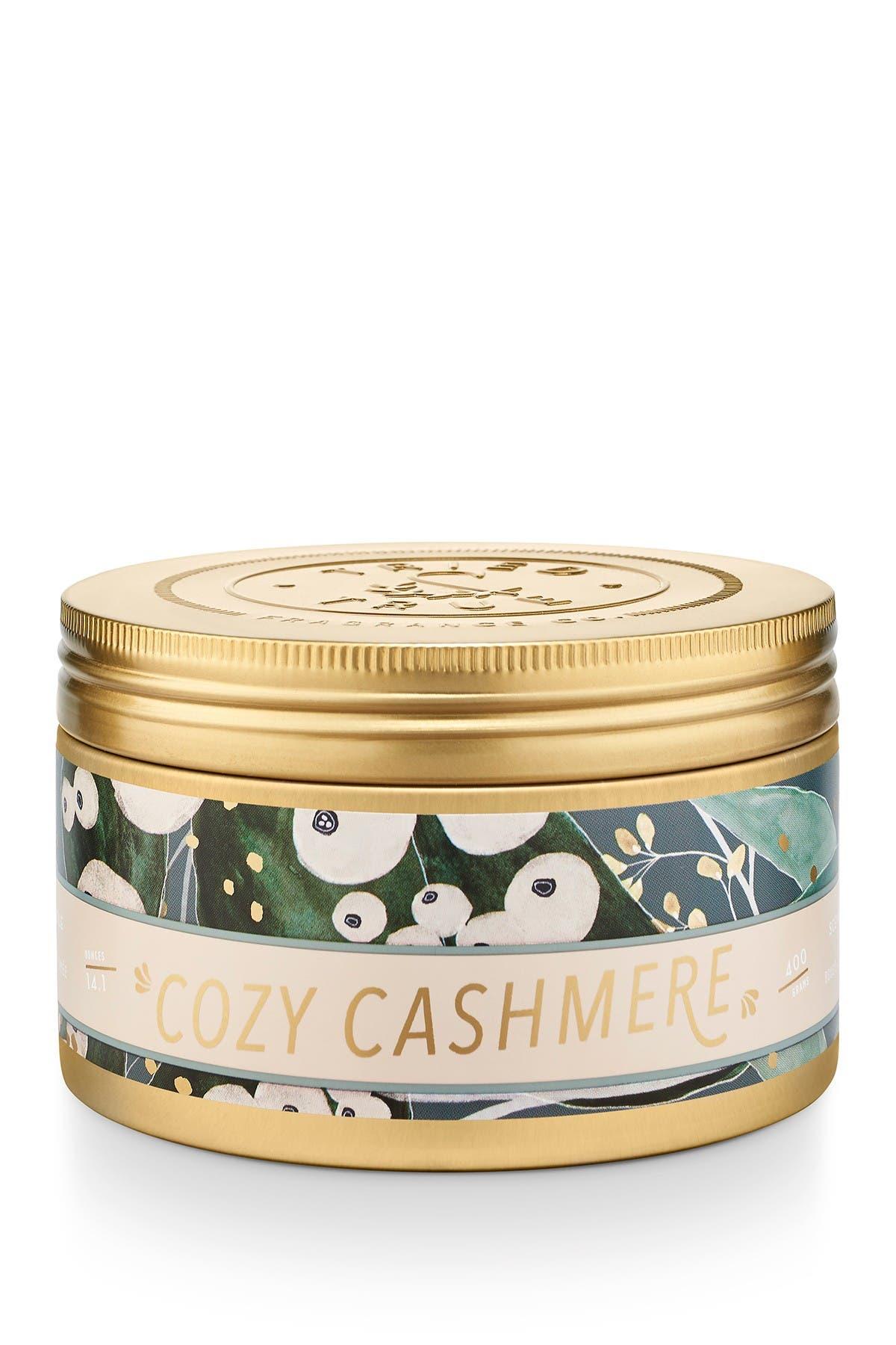 Image of Illume Cozy Cashmere 14.1 oz. Tin Candle