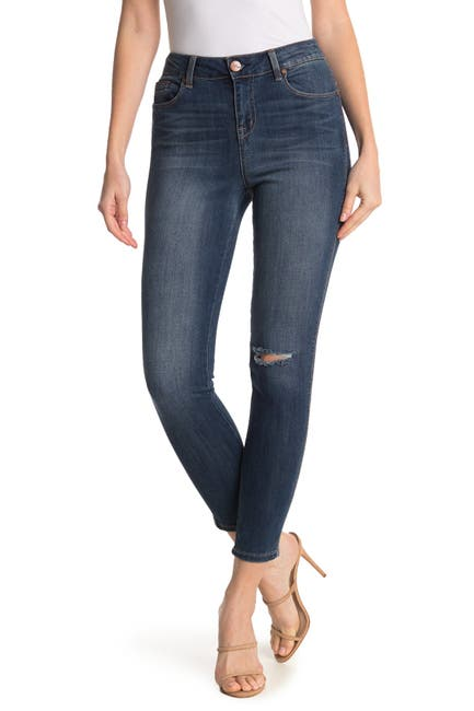 Image of 1822 Denim High Rise Ankle Skinny Jeans