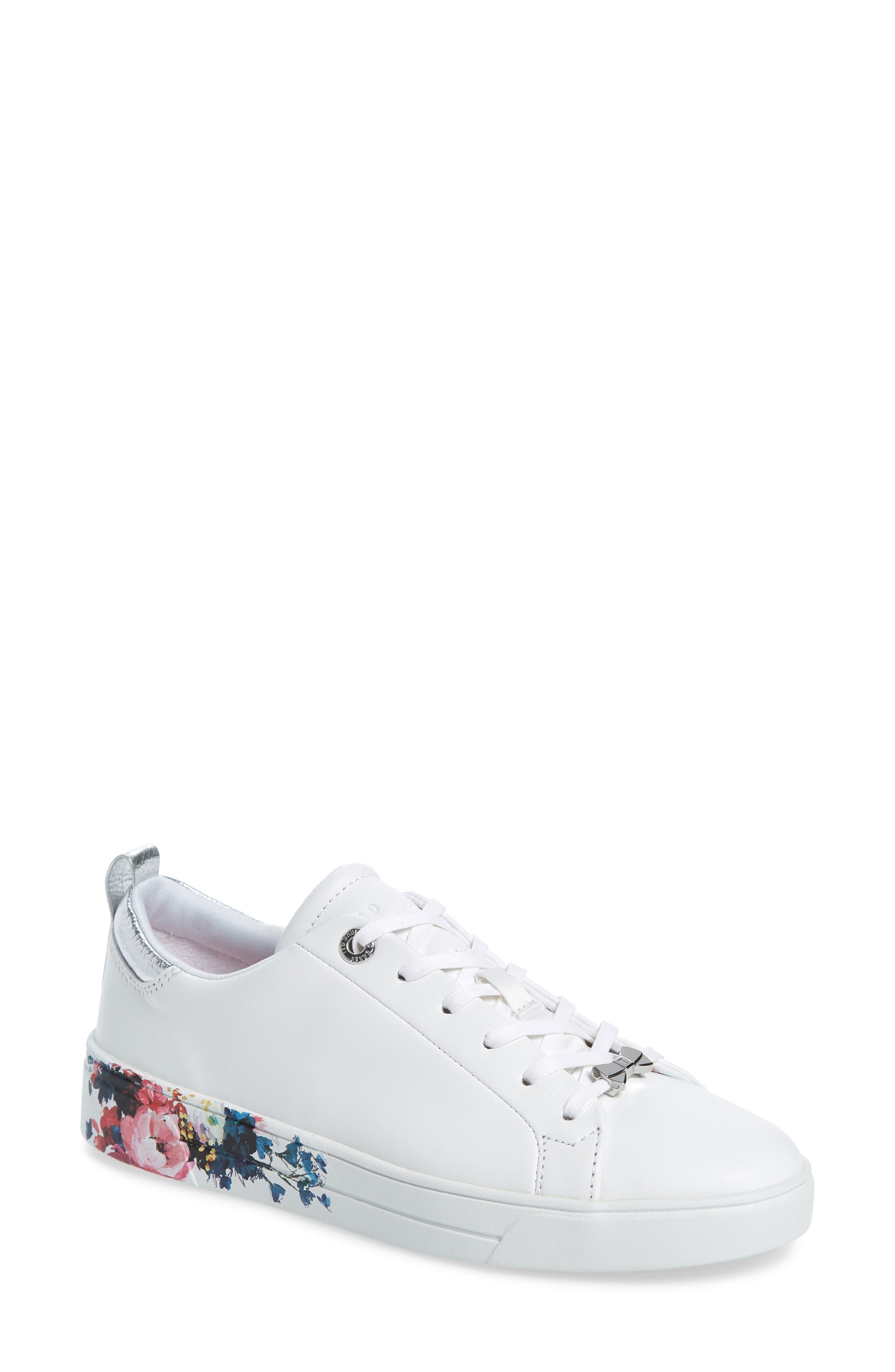 Ted Baker London Roully Sneaker, White