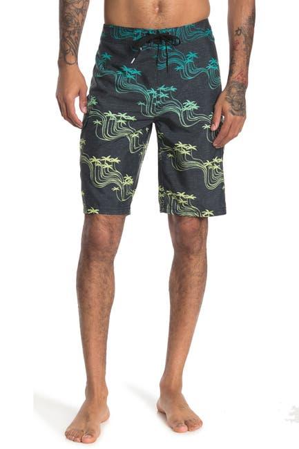 Image of Rip Curl Ballena Wavey Palm Boardshorts