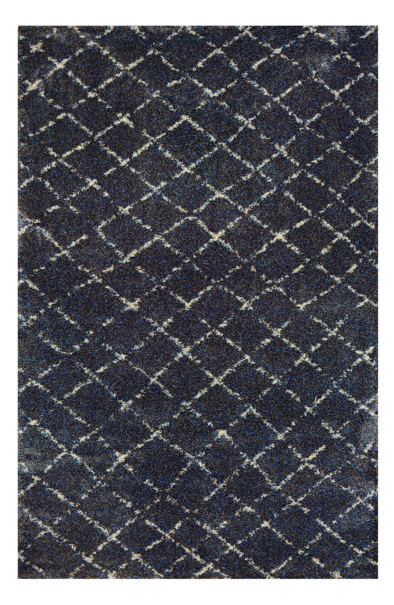 COURISTAN Bromley Gio Area Rug, Main, color, NAVY/ GREY