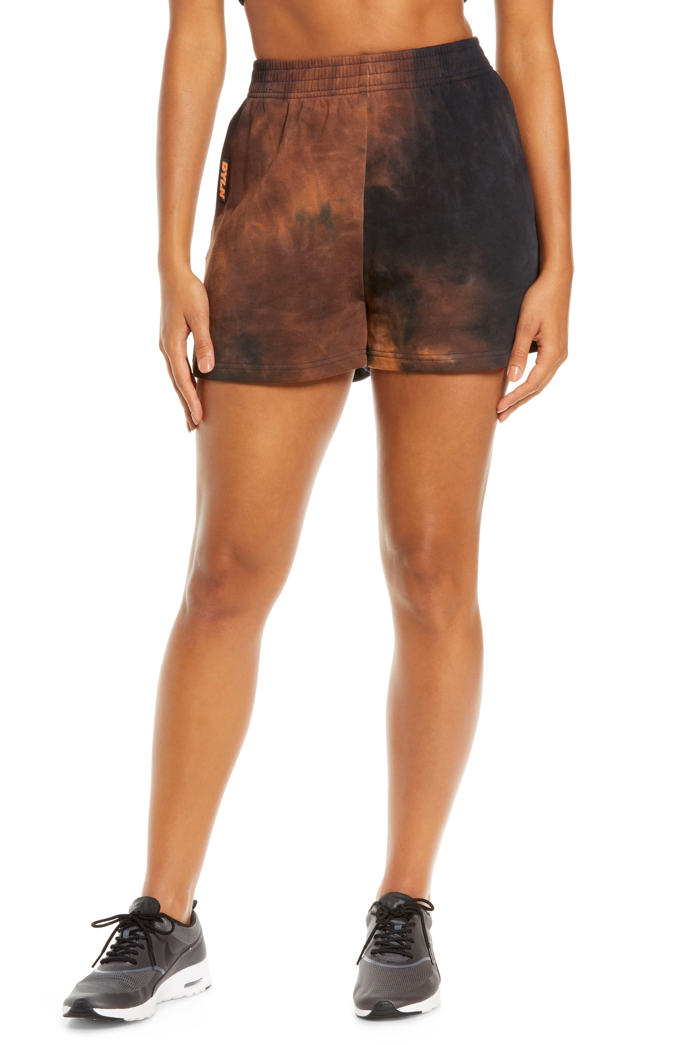 Women's By. dyln Eadie High Waist Tie Dye Shorts