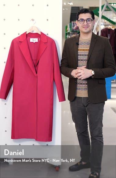 Perilla Long Wool Coat, sales video thumbnail