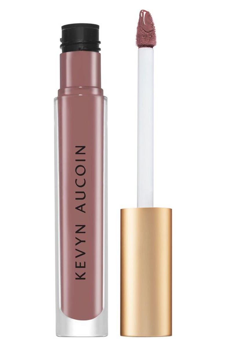 KEVYN AUCOIN BEAUTY Molten Matte Liquid Lipstick, Main, color, JANET