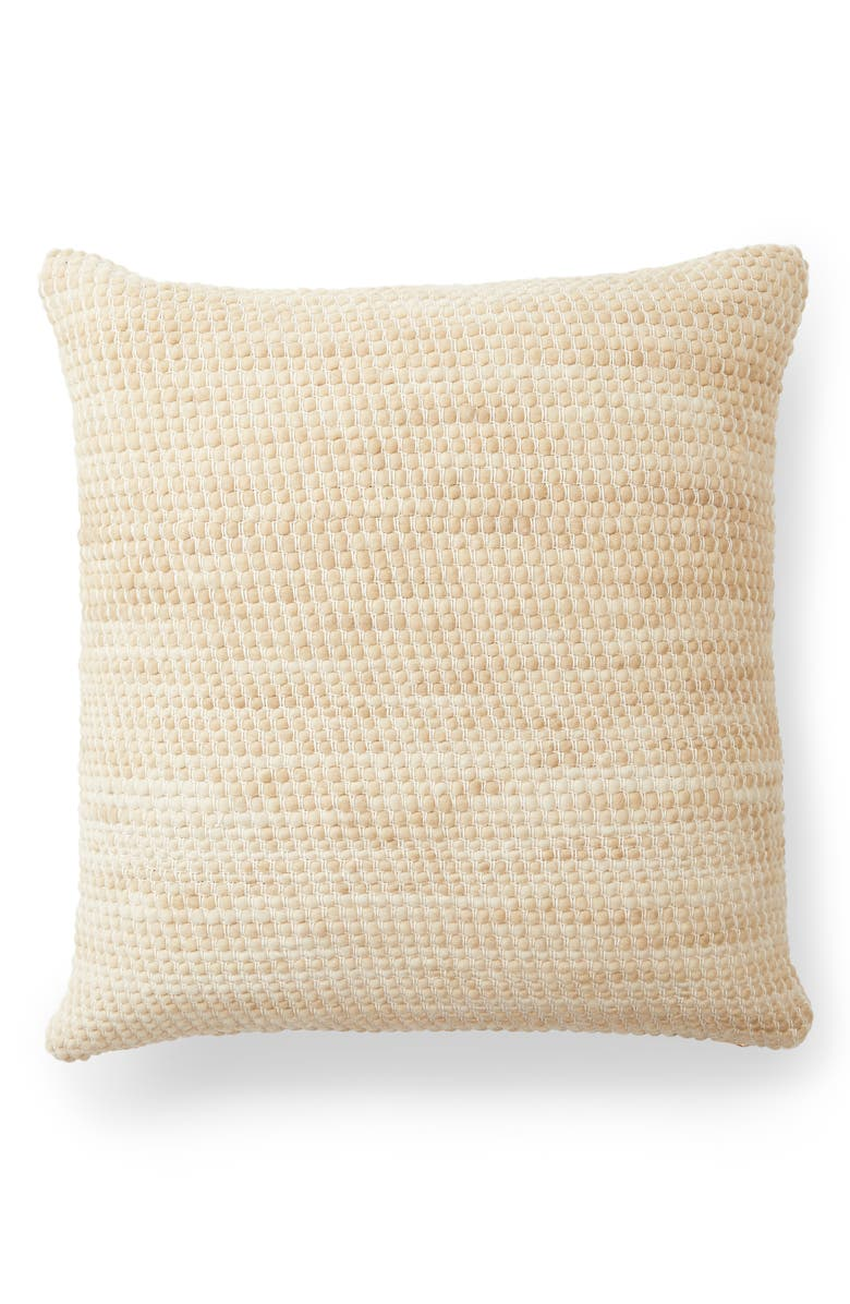 MINNA Sheila Accent Pillow, Main, color, WHEAT