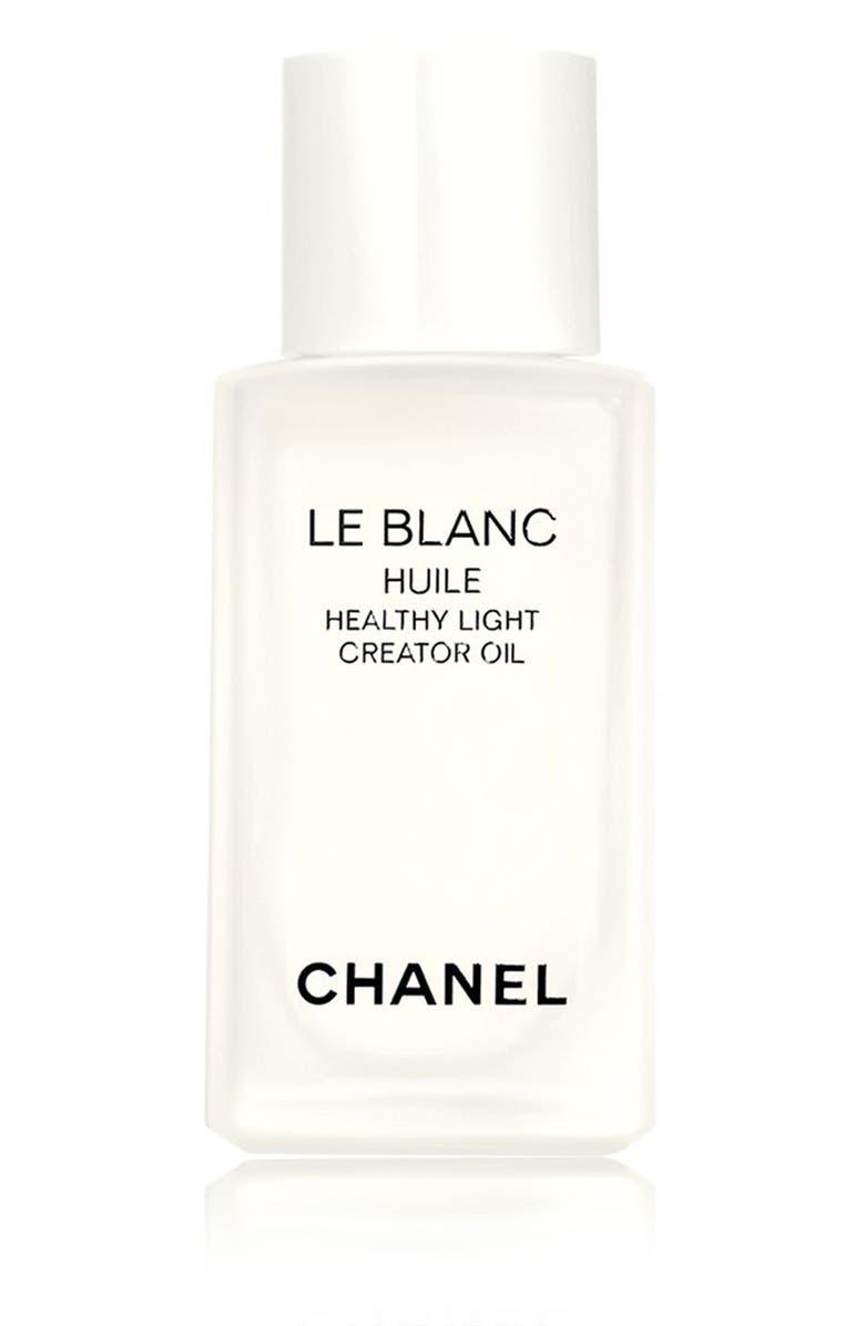 CHANEL LE BLANC HUILE <br />Healthy Light Creator Oil, Main, color, NO COLOR