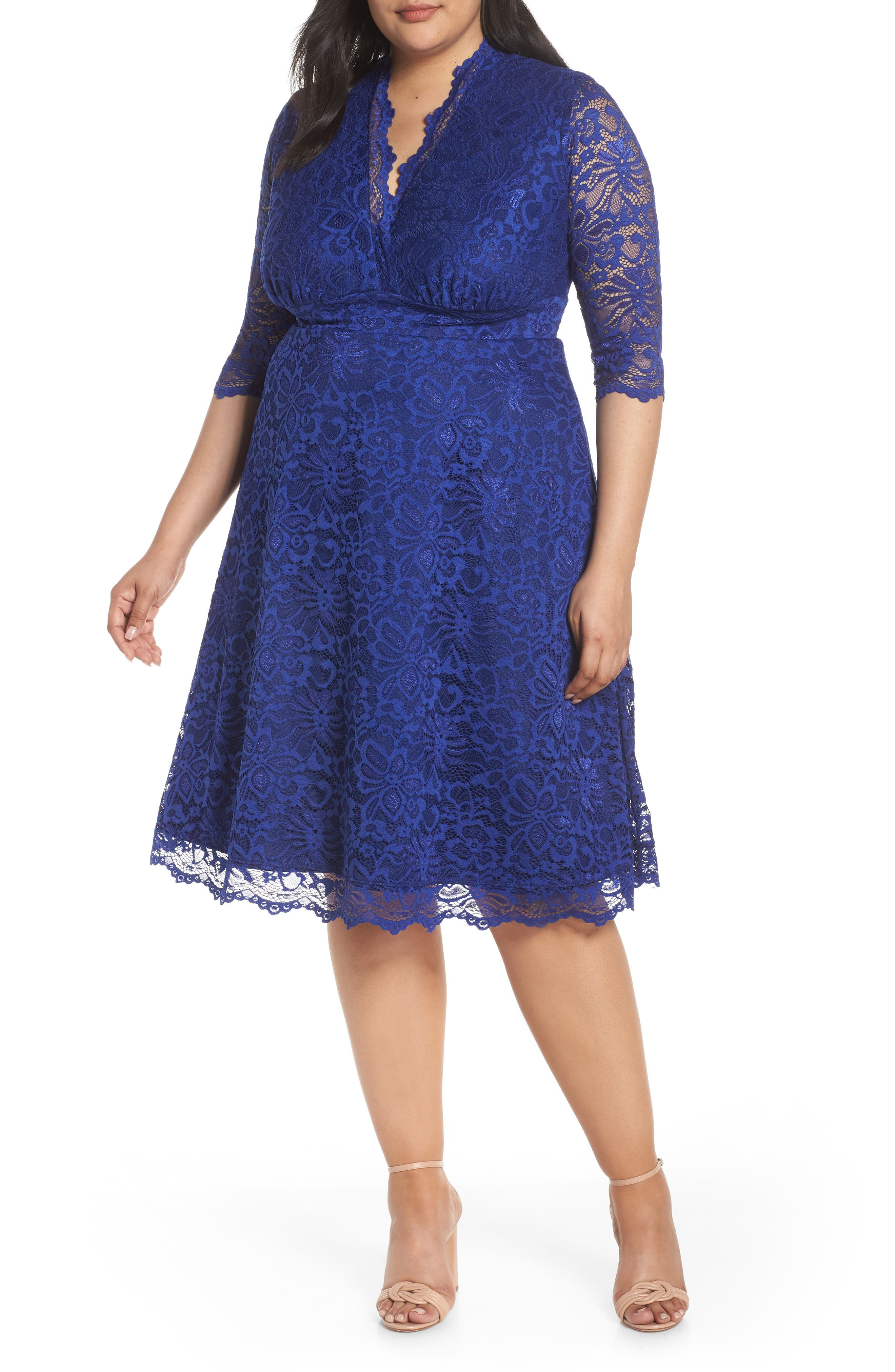 Mademoiselle Lace A-Line Dress