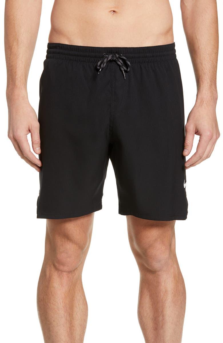 NIKE Solid Vital Volley Shorts, Main, color, 001