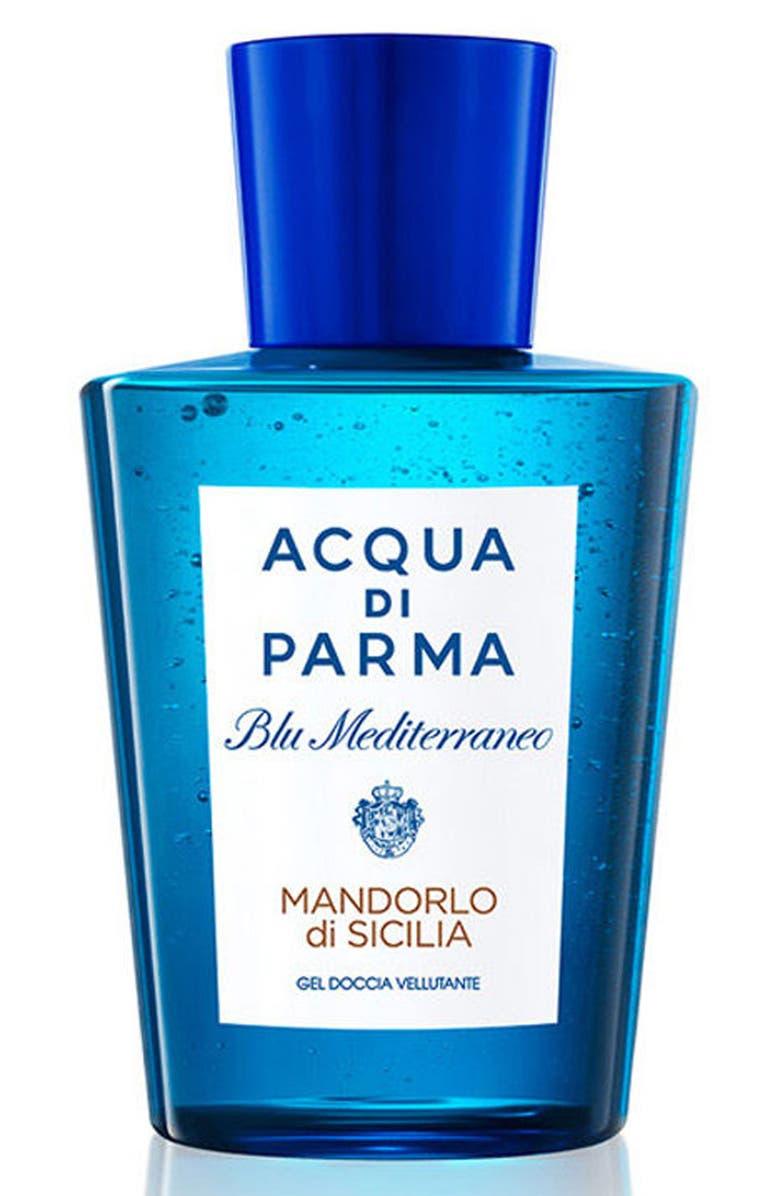 ACQUA DI PARMA 'Blu Mediterraneo - Mandorlo di Sicilia' Shower Gel, Main, color, NO COLOR