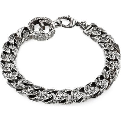 Gucci Interlocking-G Curb Chain Bracelet