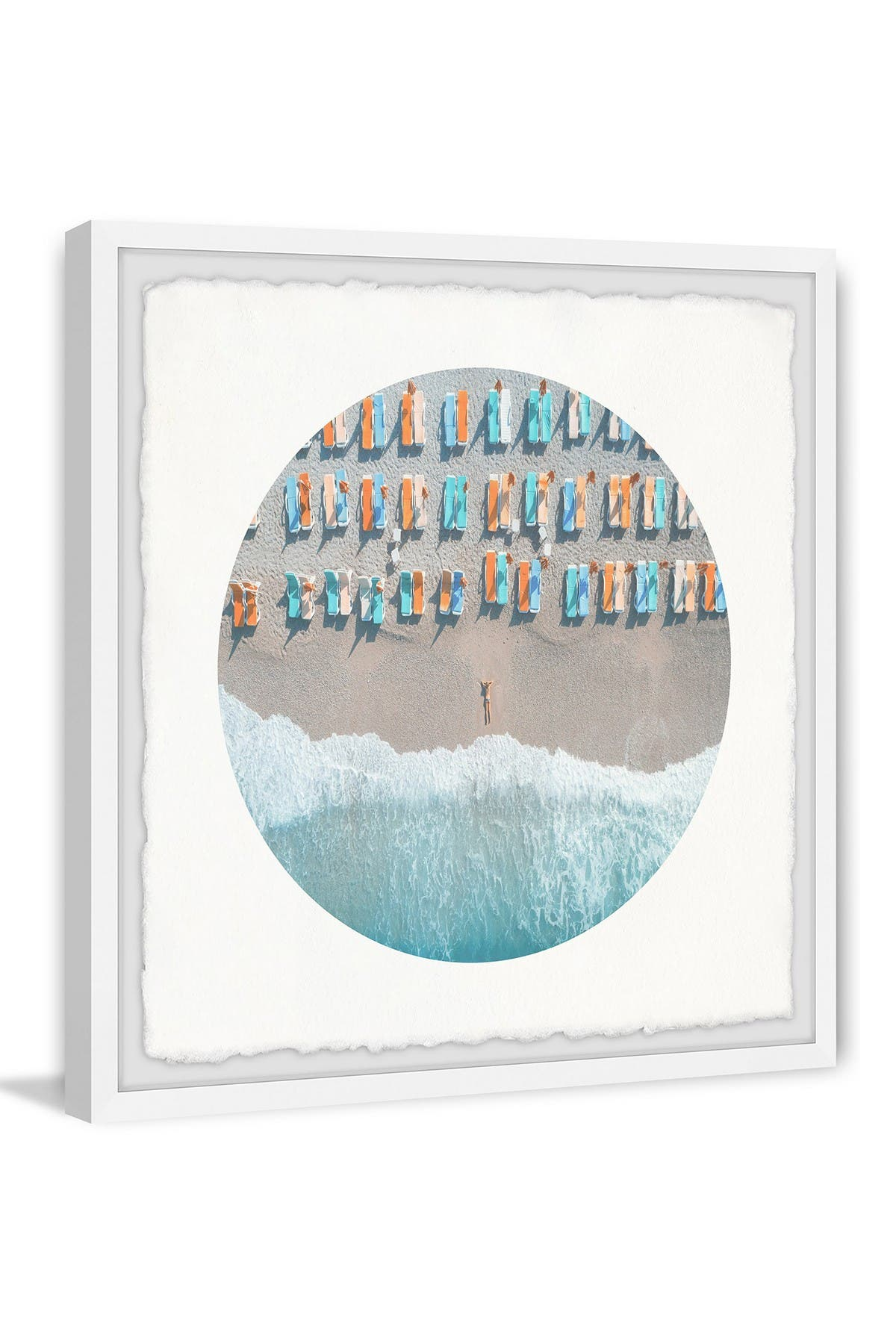 Image of Marmont Hill Inc. Waiting at the Seaside Wall Art