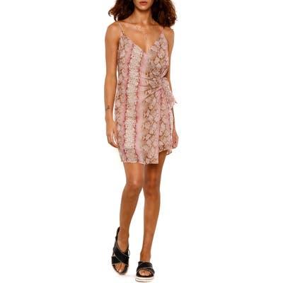 Heartloom Paige Wrap Dress, Pink