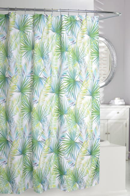 Image of Moda At Home Palm Tree Shower Curtain