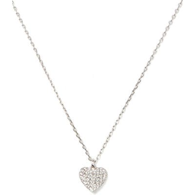 Kate Spade New York Heart To Heart Pave Mini Pendant Necklace