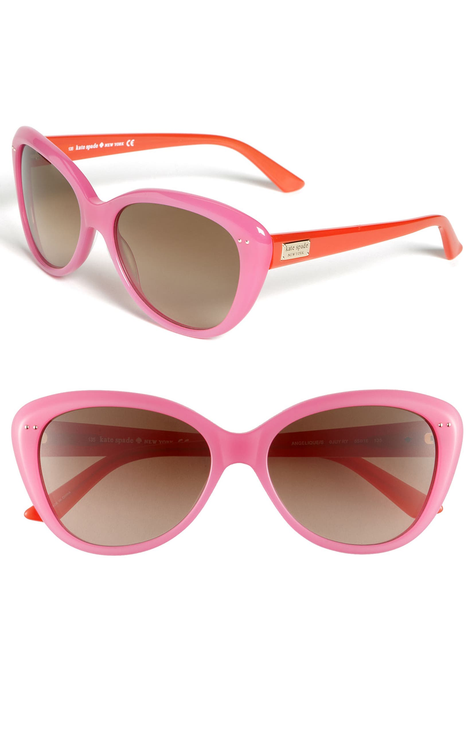 f2674d2de4 kate spade new york  angelique  55mm retro sunglasses