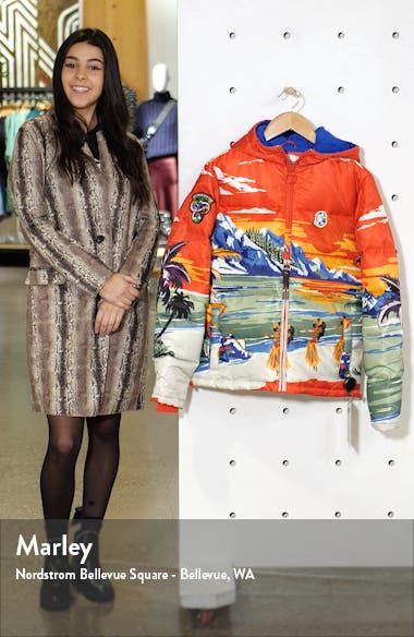 Everestt Paradise Hooded Down Puffer Jacket, sales video thumbnail