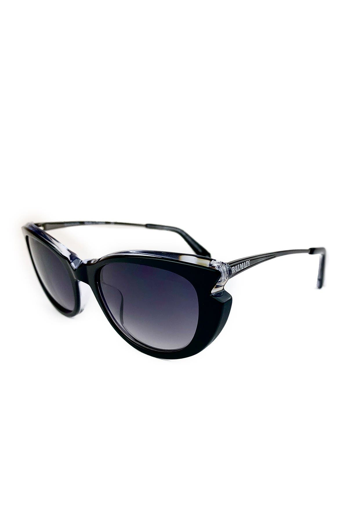 Image of Balmain 53mm Modified Butterfly Sunglasses