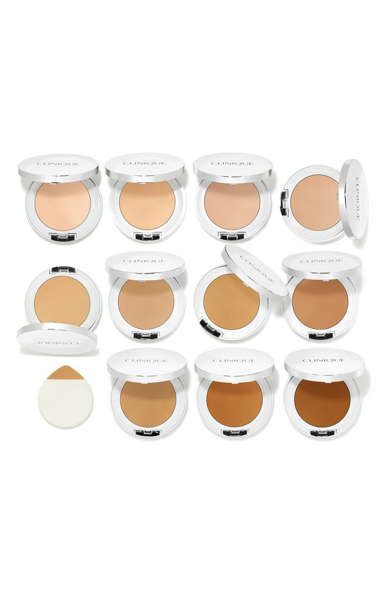 CLINIQUE Beyond Perfecting Powder Foundation + Concealer, Main, color, AMBER