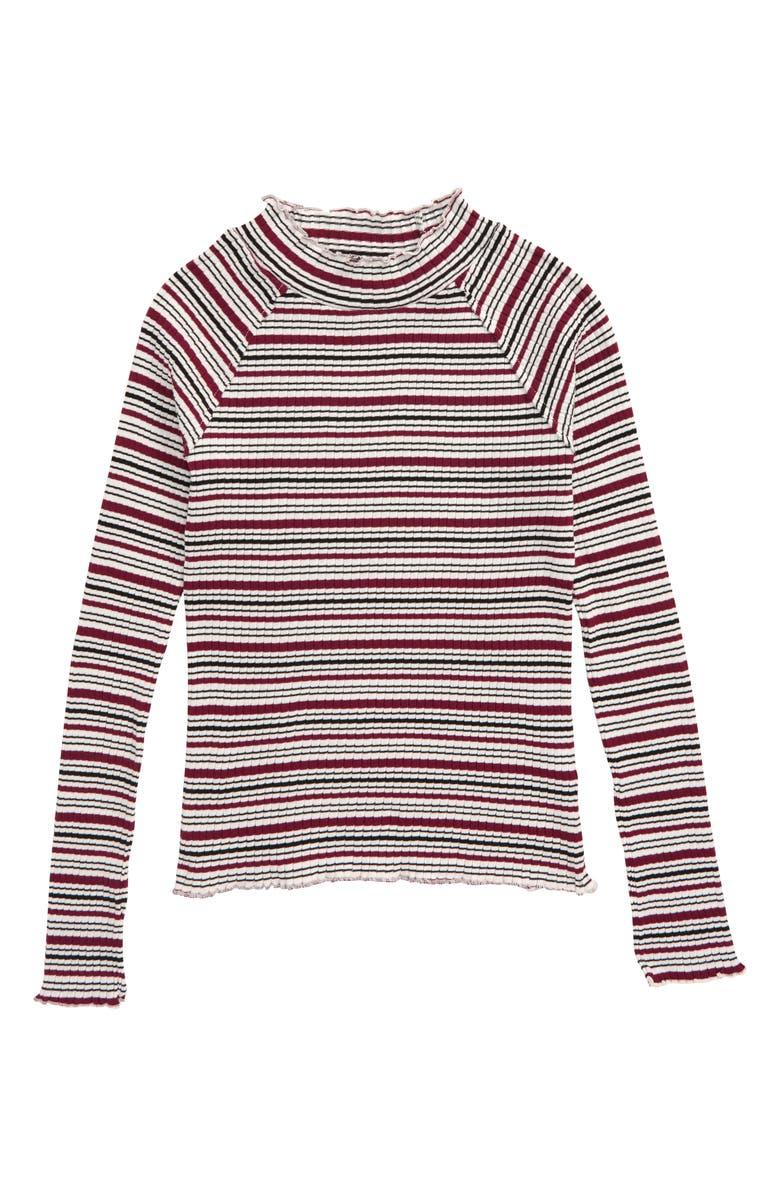HABITUAL Adalynn Long Sleeve Top, Main, color, MULTI PURPLE