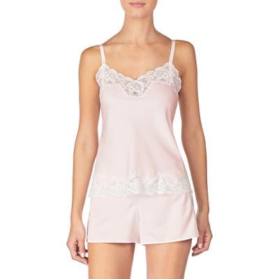 Lauren Ralph Lauren Lace Trim Short Pajamas, Pink