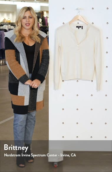 Cashmere Henley Sweater, sales video thumbnail