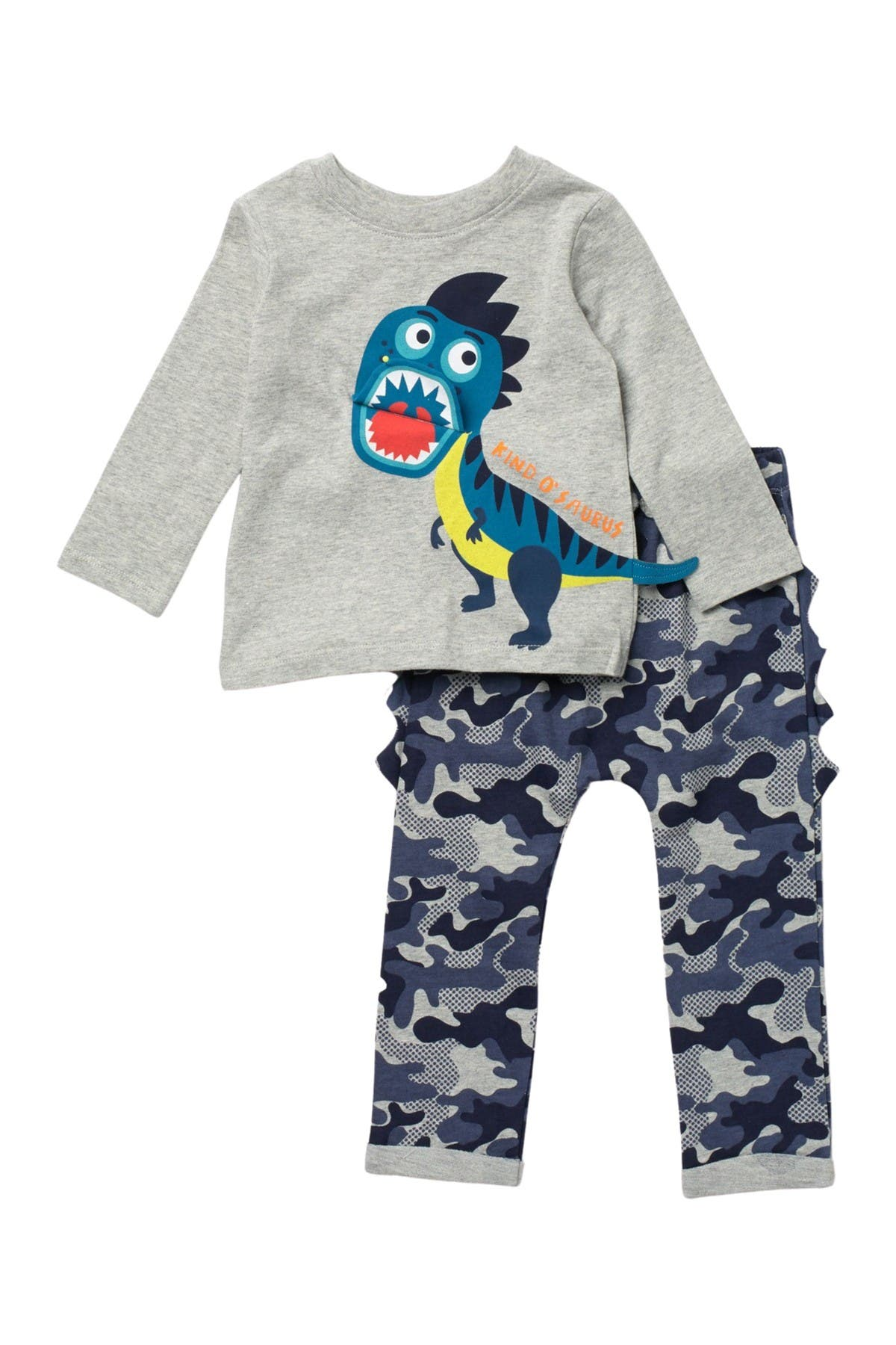 Koala baby Dino Long Sleeve T-Shirt & Pants Set