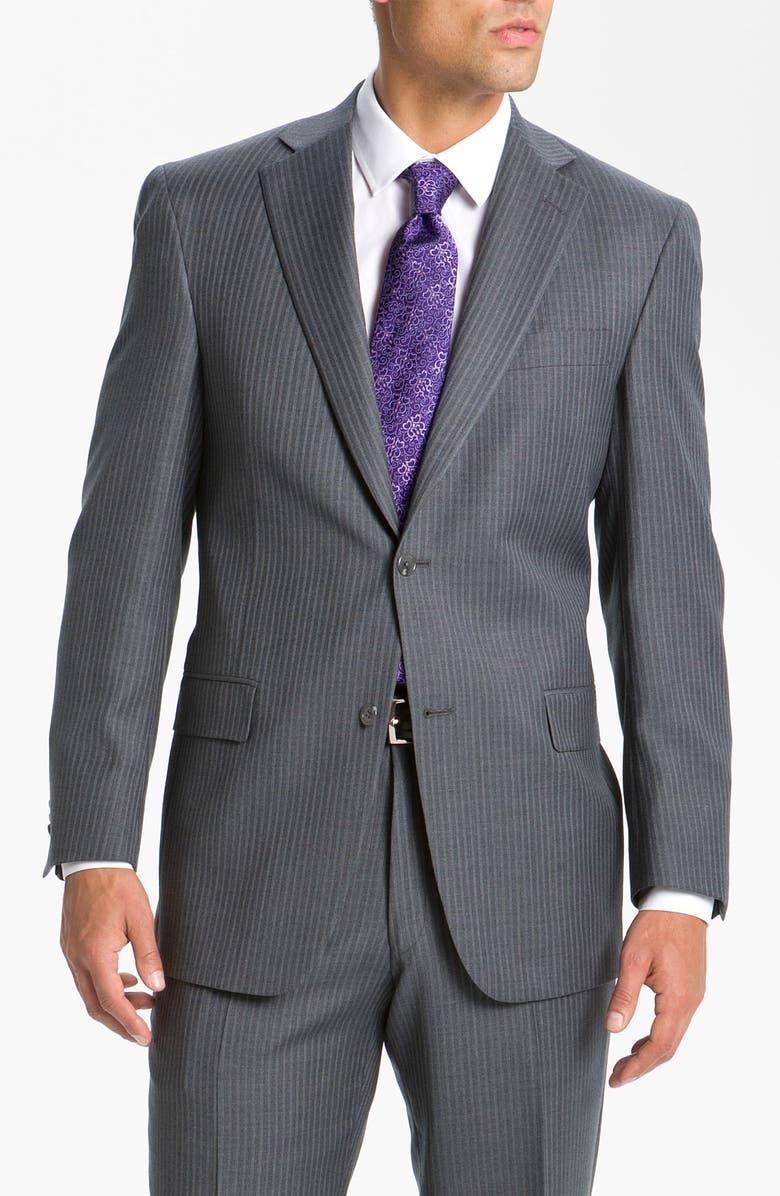 Hart Schaffner Marx Chalk Stripe Suit   Nordstrom